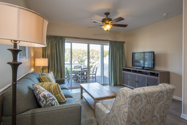 Sunset Village Luxury Townhome Living Area Hawks Cay