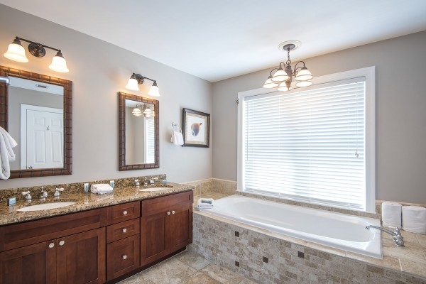 Luxury Rental Townhome Bathroom at Hawks Cay