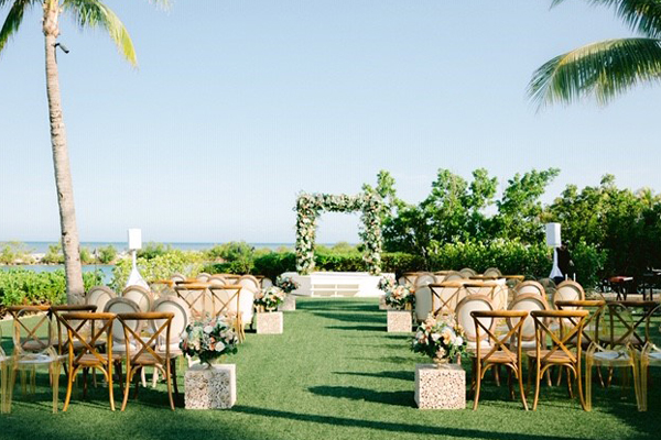 Outdoor Florida Keys Wedding Venue